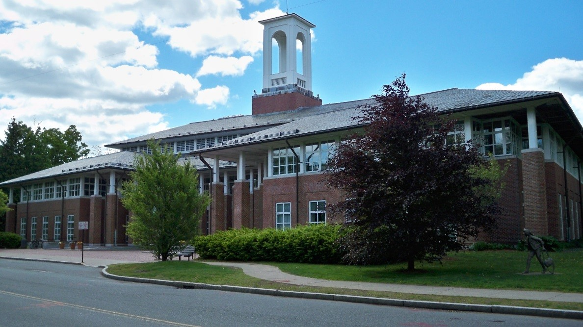 Newton Free Library – Front View