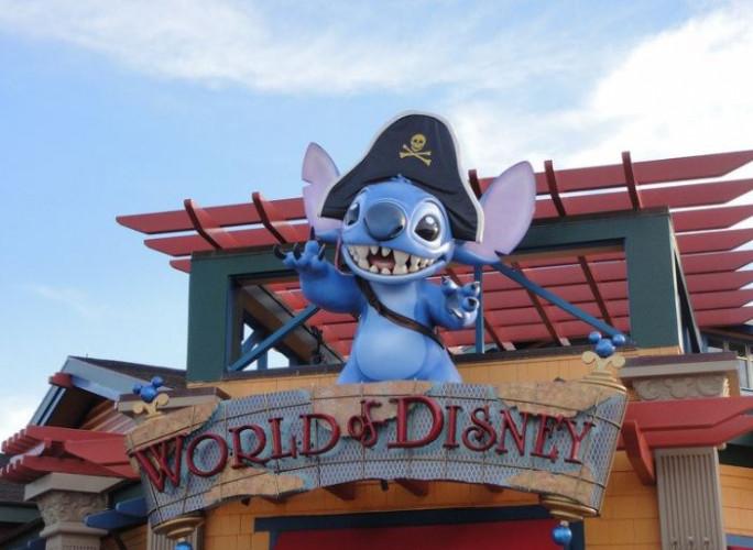 This image shows Disney World!