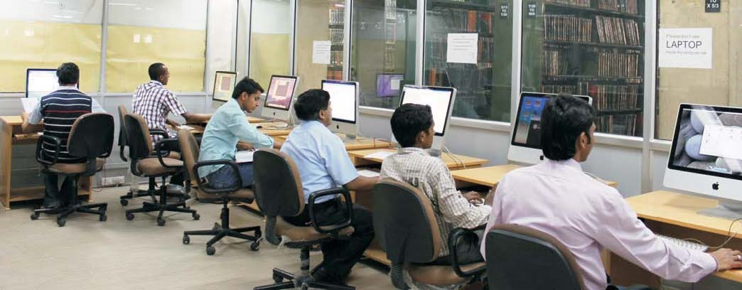 Computer section of the library