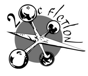 The official logo of the 20 cent fiction club
