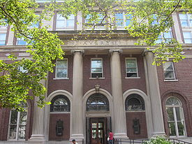 Avery Library at Columbia