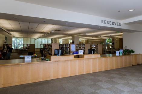 Reserve checkout counter
