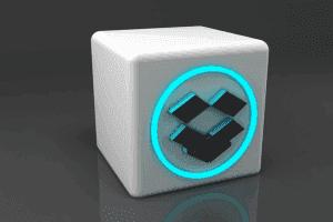 3D design of dropbox