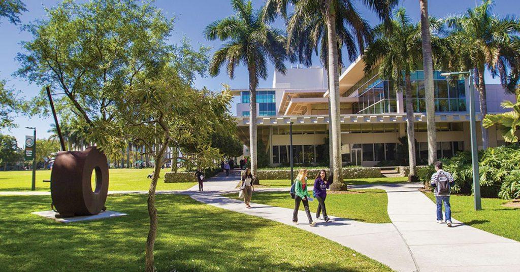 Main Campus of University of Miami