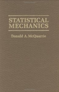 a statistical mechanics book