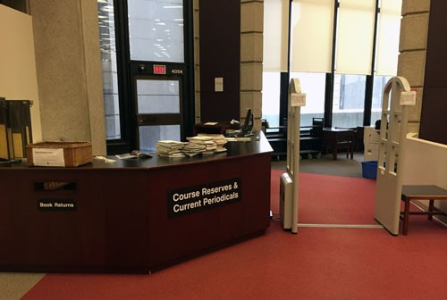 Course Reserves Desk