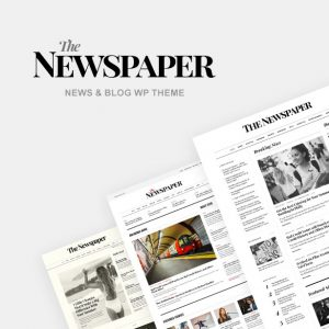 the layout of a newspaper