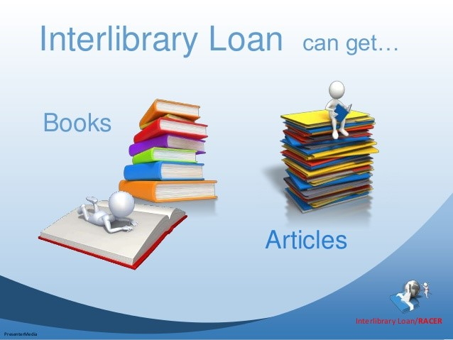 Interlibrary loan PowerPoint presentation
