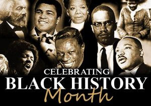 A pictorial representation of African-American heroes in history