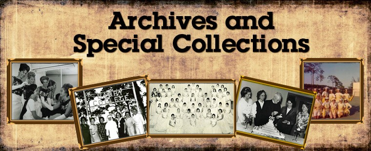 Sample archives & special collections