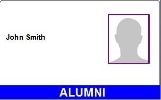 Alumni library card