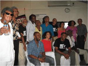 Caribbean writers visiting at the University of South Carolina