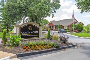 Coach House drive in entrance