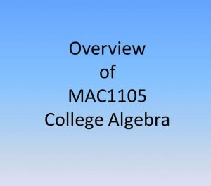 College Algebra is one of the unpopular classes