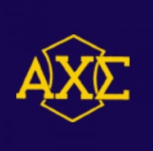 The official logo of the Alpha Chi Sigma Club