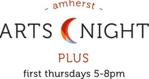 Poster for the Amherst Arts Night event
