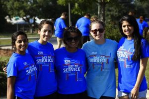 Members of the CSU community outreach ambassadors