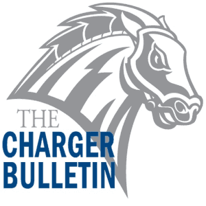 The official logo of the Charger Bulletin