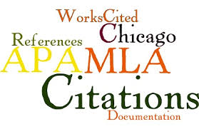 Different types of citations
