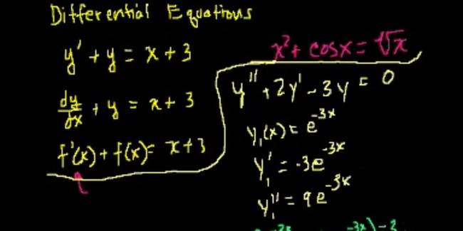 A worked example of a Differential Equation