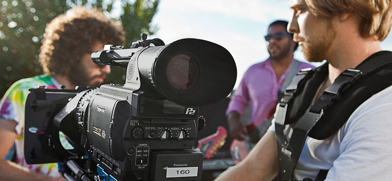Digital film making and video production
