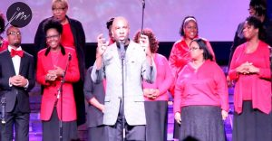 The Mass choir performing at the Gospel Fest Event