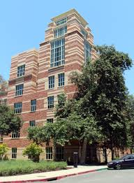 Front view of the Hugh & Hazel Darling Law Library