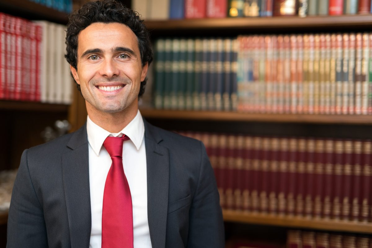Image of a Smiling Lawyer