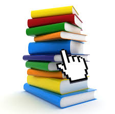 Books icon and a mouse pointer over it