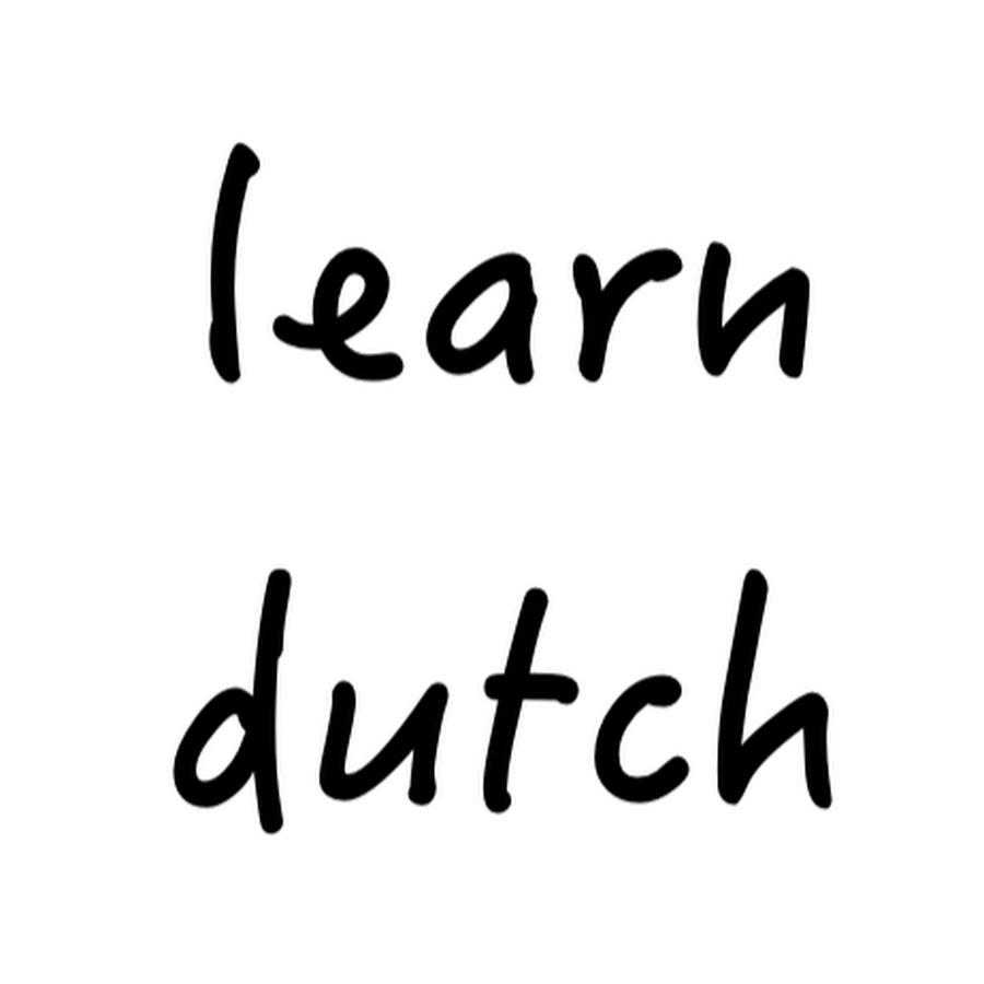 A handwritten text of learn dutch