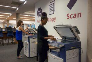Printing station