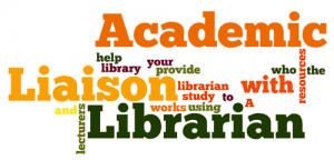 Liaison Librarians word cloud