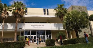 A photo of Monsignor William Barry Library