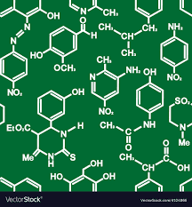Chemical structures of Organic Chemistry compounds