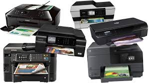 Pictures of different printers