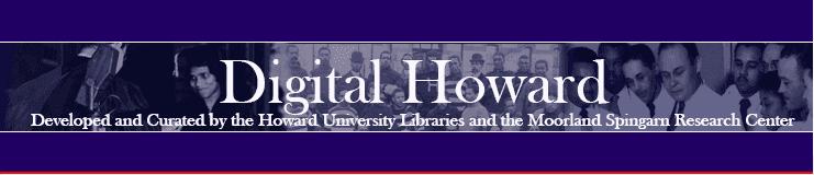 The digital Howard banner on site