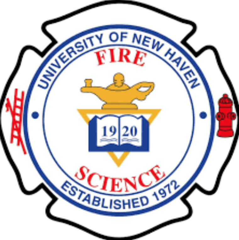 Fire science department logo at UNH