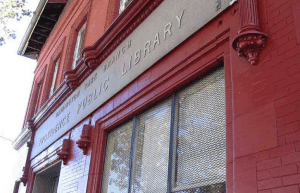 An image of the library's exterior