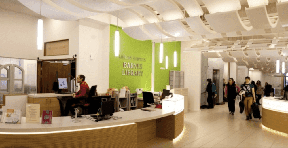 The Barnes Library contains the main subject collections in the areas of medicine, health sciences, biosciences and sport.