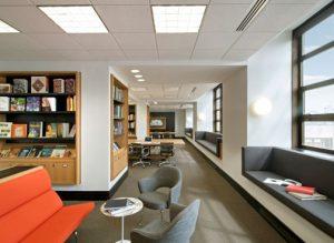 Zabar Art Library Interior