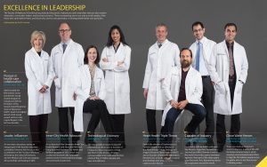 doctors group picture in magazine