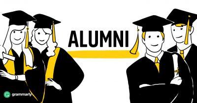 alumni cartoon