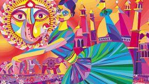 art depicting Indian culture