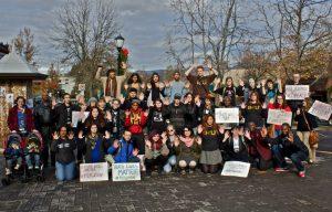 Black Lives Matter - BSU members unite.