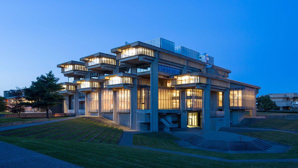 The night view of University of Massachusetts - Dartmouth