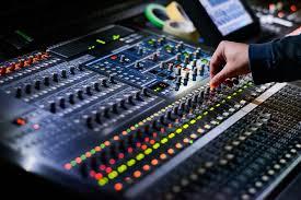 a recording sound board