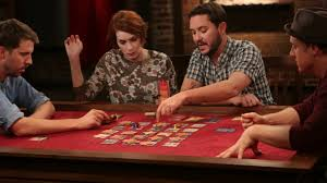 This image shows students participating in Tabletop Gaming.