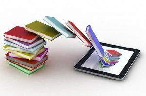 Reading ebooks using an electronic gadget