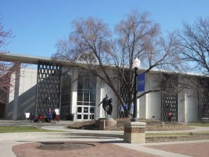 the Reinert-Alumni Memorial Library at Creighton University