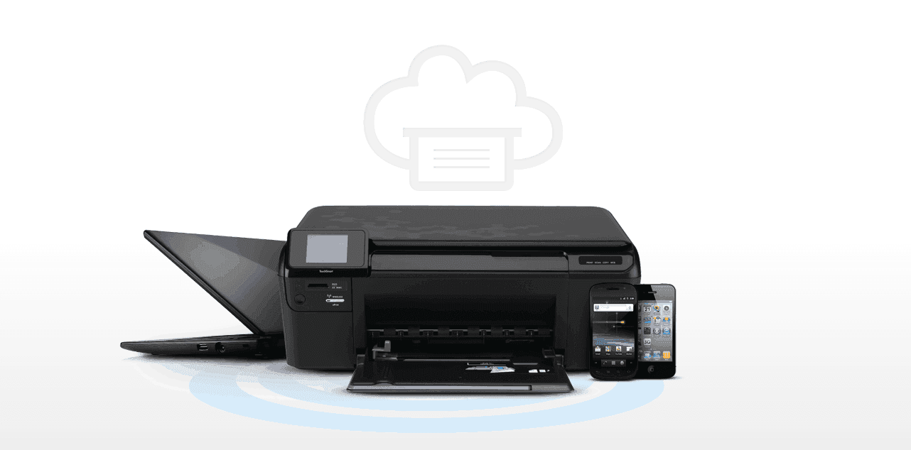 A wireless printer